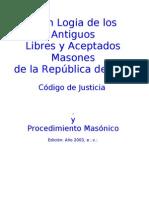 Codigo de Justicia y Procedimiento Masonico (1)