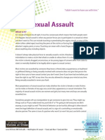 Sexual Assault - Help for Teenage Victims of Crime