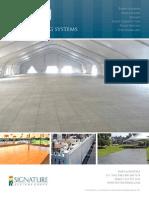 EventDeck Tent Flooring Systems Brochure 2014