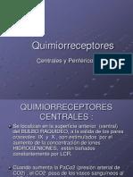 FISIOLOGÌA RESPIRATORIA quimioreceptores