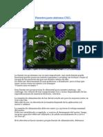 Fuentes Para Sistema CNC