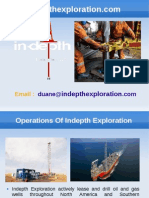 Oil and Gas Investments Company - Indepth Exploration