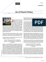 Dailyreckoning.com the Eight Marks of Fascist Policy