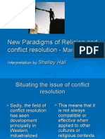 Jewish Conflict Resolution Pp