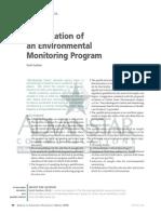 JVT 2010 v16n2 Qualification of Environmental Monitoring Program