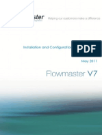 Flowmaster V7 Installation and Configuration