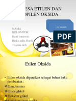 Sintesa Etilen Dan Propilen Oksida