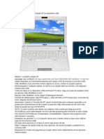 Instalación de Microsoft Windows XP de dispositivo USB