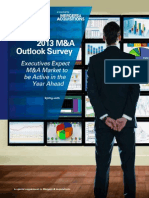 KPMG Outlook Survey MA 2013