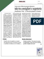 Rassegna Stampa 21.09.2013