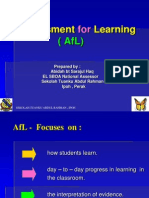 Assessment For Learning Slide Show