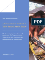 A Parliamentarians' Handbook on The Small Arms Issue