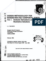 Hart-Smith Design Methodology for Bonded-Bolted Composite Joints_a117342