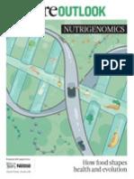 Nature Outlook Nutrigenomics. How Food Shapes Health and Evolution.textMark