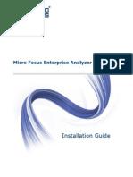 Installing Enterprise Analyzer