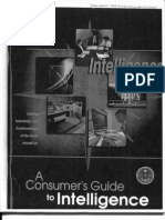 CIA Publication- A Consumer's Guide to Intelligence