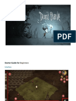 Don_t Starve Game GUIDE