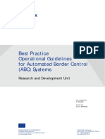 Best Practice Operational Guidelines for Automated Border Control