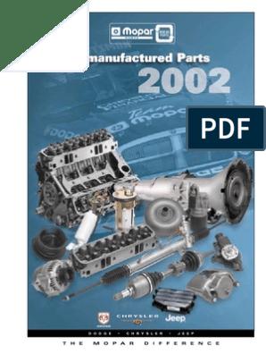 Dodge Dakota MMC Raider New Engine Air Filter 3.7L 4.0L V6 Mopar Factory Oem