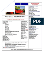 Especificaciones Del EV1
