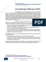 ENISA Threat Landscape Mid-Year 2013
