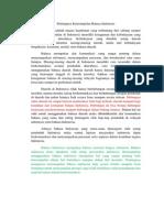 Pentingnya Keterampilan Bahasa Indonesia