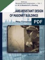 Earthquake-Resistant Design of Masonry Buildings (Book)