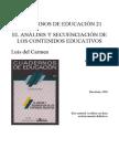 3EEDU Del Carmen 2 Unidad 2 Secuenciacion de Contenidos