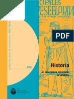 Historia_Las Relaciones Coloniales