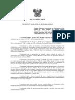 DECRETON 23.801 REPUBLICAÇÃO SITUAÇÃO DE EMERGENCIA