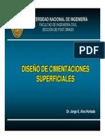 1. Diseño Cimentaciones Superficiales