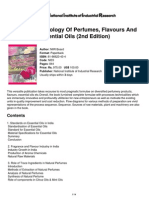 Modern Technology of Perfumes, Flavours and Essential Oils (2nd Edition)