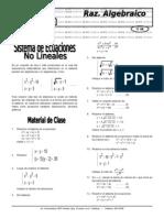 X 13 Sist Ecuac No Lineales