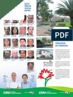 Freguesia de Canaviais – Programa Eleitoral