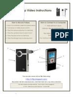 Flip Video Instructions