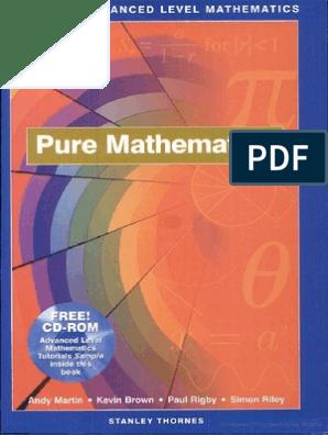 0748735585 Complete Advanced Level Mathematics - Pure