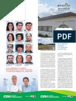 União de Freguesias de N. Senhora da Boa Fé e S. Sebastião da Giesteira – Programa Eleitoral