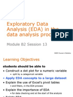 EDA in the Data Analysis Process
