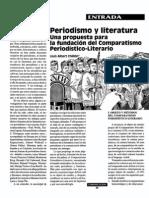 CHILLON Propuesta Comparatismo Periodismo y Literatura