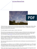 Chemtrails - Frightening Lesser-Known Facts