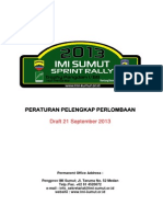 IMI Sumut Sprint Rally 2013