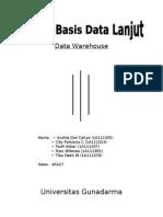 Data Warehouse Kelompok 1