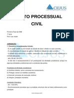 2632_aula 01 - Processo Civil