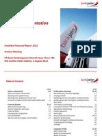 Analyst Meeting Juni 2012