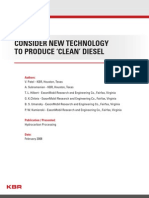 Clean Diesel Production