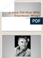 Marquez a Very Old Man With Enormous Wings