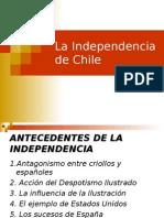 El Proceso de independencia en Chile
