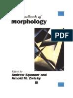Handbook Morphology