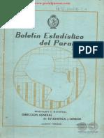 BOLETIN ESTADISTICO DEL PARAGUAY - SEGUNDO SEMESTRE - 1969 - PORTALGUARANI