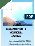 El código secreto de la Arquitectura Amerindia